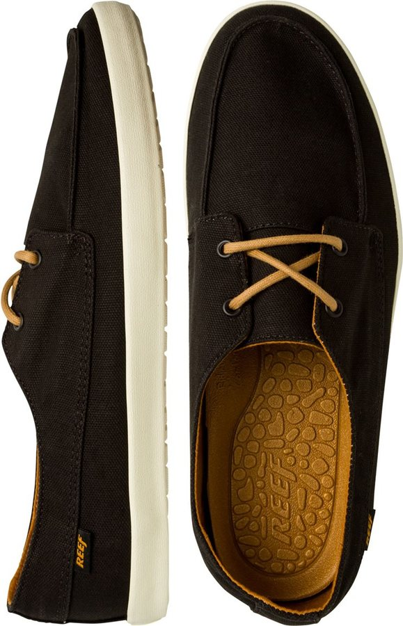 Zapatos negros Reef para mujer 0cLcvQ32Bk