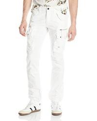 Pantalón cargo blanco de Prps Goods & Co.