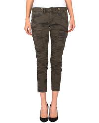 Pantalón cargo de camuflaje marrón