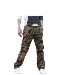 Pantalón cargo de camuflaje