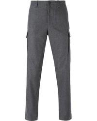 Pantalón cargo de lana gris de Michael Kors