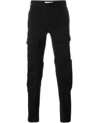 Pantalón cargo de lana negro de Givenchy