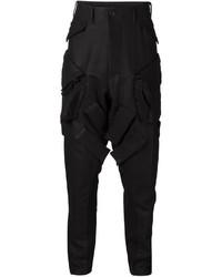 Pantalón cargo de lana negro de Julius