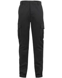 Pantalón cargo en gris oscuro