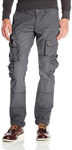 Pantalón cargo en gris oscuro de Prps Goods & Co.