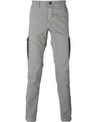 Pantalón cargo gris de Stone Island
