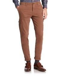 Pantalón cargo marrón