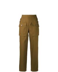Pantalón cargo mostaza de Chloé