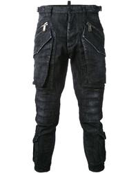 Pantalón cargo negro de DSQUARED2