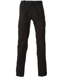 Pantalón cargo negro de Stone Island