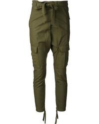 Pantalón Cargo Verde Oscuro de AR+