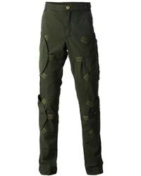 Pantalón cargo verde oscuro de Walter