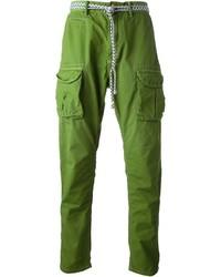 Pantalón cargo verde de Scotch & Soda