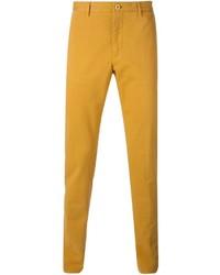 Pantalón chino amarillo de Etro