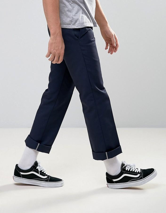 Zapatos azul marino Dickies para hombre SIhFgpa0Ss