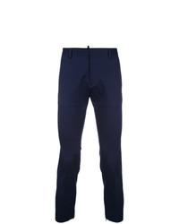 Pantalón chino azul marino de DSQUARED2