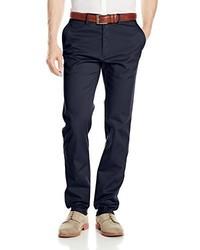 Pantalón chino azul marino de Haggar