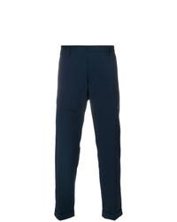 Pantalón chino azul marino de Paolo Pecora