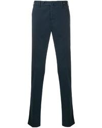 Pantalón chino azul marino de Pt01