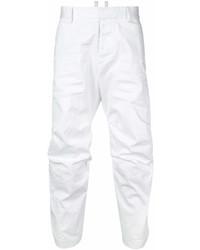 Pantalón chino blanco de DSQUARED2