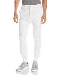 Pantalón chino blanco de Zanerobe