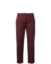 Pantalón chino burdeos de Department 5