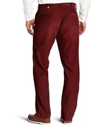Pantalón chino burdeos de Haggar