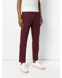 Pantalón chino burdeos de Jacob Cohen