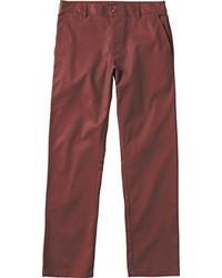 Pantalón chino burdeos de RVCA