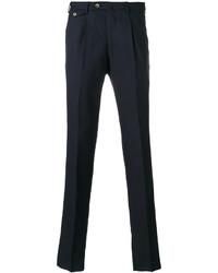 Pantalón chino de lana azul marino de Pt01