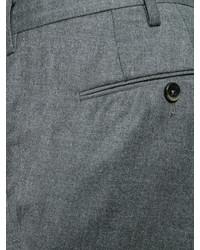 Pantalón chino de lana en gris oscuro de Pt01