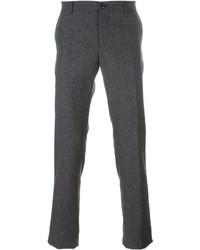 Pantalón chino de lana en gris oscuro de Etro