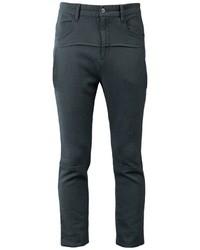 Pantalón chino de lana en gris oscuro de Undercover