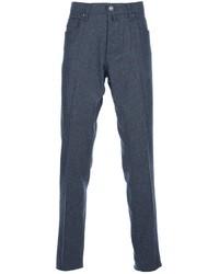 Pantalón chino de lana gris de Jacob Cohen