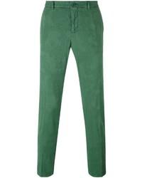 Pantalón chino de lana verde de Etro