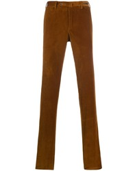 Pantalón chino de pana en tabaco de Pt01