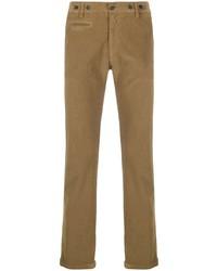 Pantalón chino de pana marrón claro de Barena