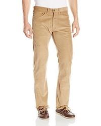 Pantalón chino de pana marrón claro de Dockers