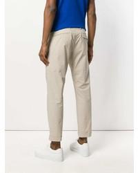 Pantalón chino en beige de Paolo Pecora