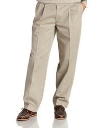 Pantalón chino en beige de Izod