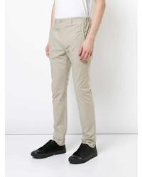 Pantalón chino en beige de Julien David