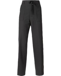 Pantalón chino en gris oscuro de Ann Demeulemeester