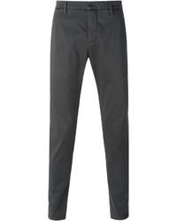 Pantalón chino en gris oscuro de Dondup