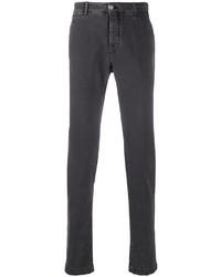 Pantalón chino en gris oscuro de Jacob Cohen
