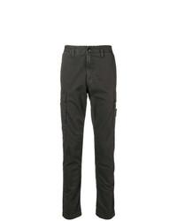 Pantalón chino en gris oscuro de Stone Island