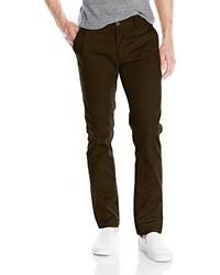 Pantalón chino en marrón oscuro de Brixton