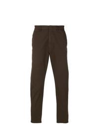 Pantalón chino en marrón oscuro de Pence