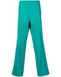 Pantalón chino en verde azulado de Maison Margiela