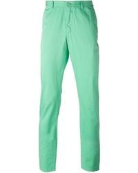 Pantalón chino en verde menta de Etro