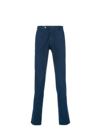 Pantalón chino estampado azul marino de Berwich